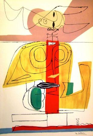 Litografia Le Corbusier - Taurus
