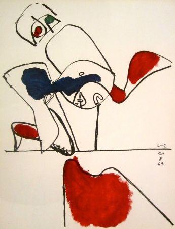 Litografia Le Corbusier - Taurus XVII