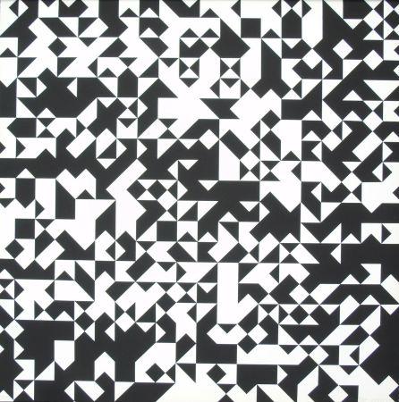 Serigrafia Morellet - Tavola 7