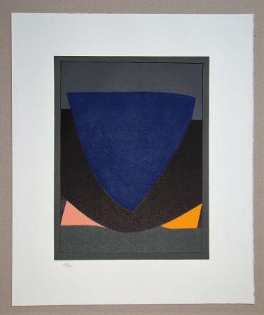 Litografia Vasarely - Tecoma