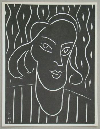 Linoincisione Matisse - Teeny, 1938