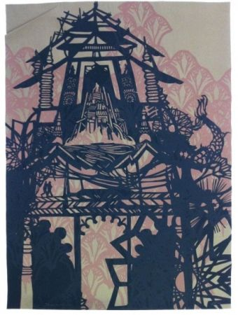 Serigrafia Swoon - Temple