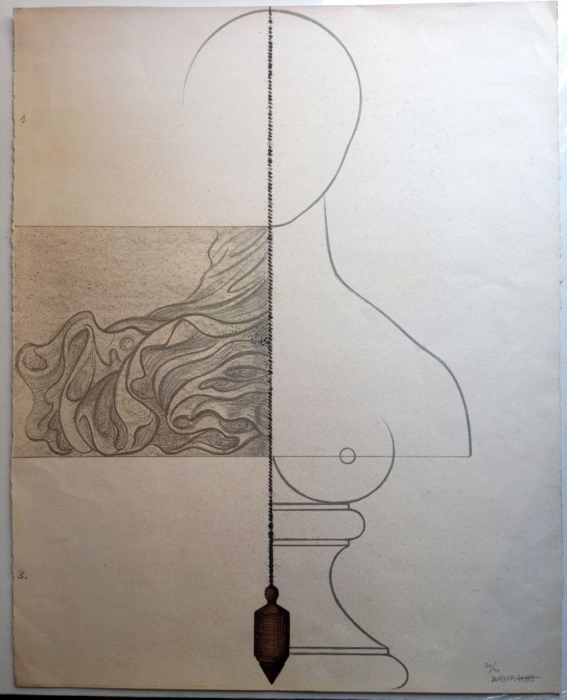 Litografia Subirachs - Teresa Bonjour