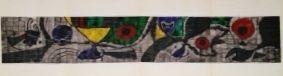 Litografia Miró - Terres de grand feu