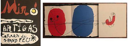 Litografia Miró - Terres de Grand Feu (1956)