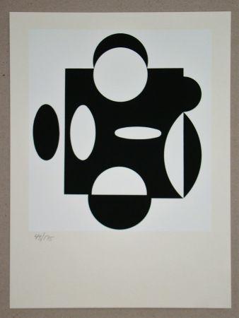Serigrafia Vasarely - Terreur
