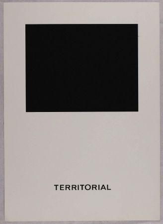 Serigrafia Agnetti - Territorial from 'Spazio perduto e spazio costruito' portfolio, Plate B