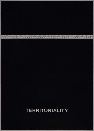 Litografia Agnetti - Territoriality from 'Spazio perduto e spazio costruito' portfolio, Plate H