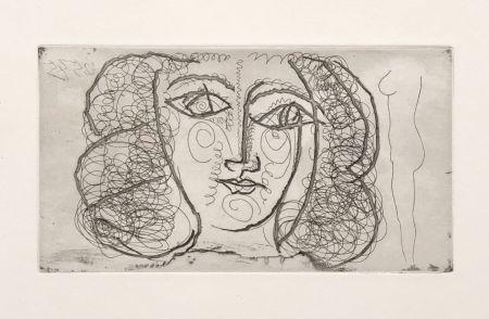 Non Tecnico Picasso -  Tete de femme de face (Small))