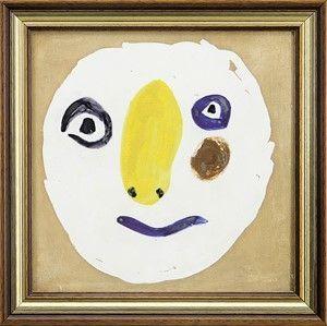 Ceramica Picasso - Tete polychrome