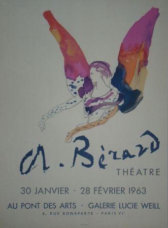 Litografia Berard - Théatre