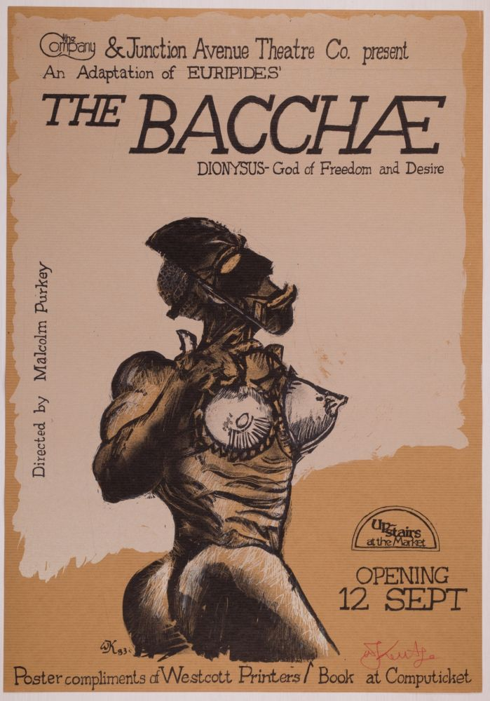 Serigrafia Kentridge - The Bacchae