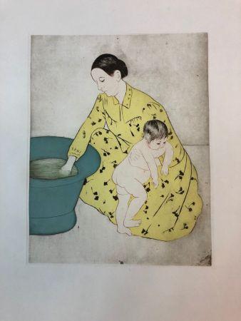 Acquaforte Cassatt - The Bath