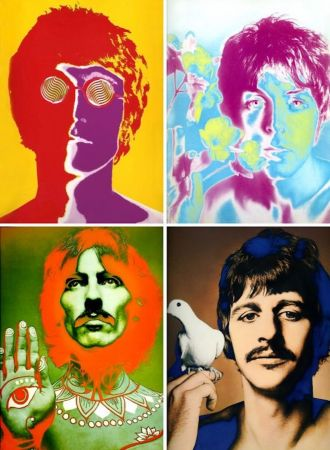 Litografia Avedon - The Beatles