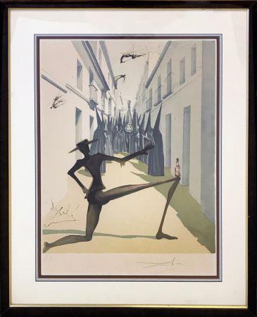 Litografia Dali - THE BIRD HAS FLOWN