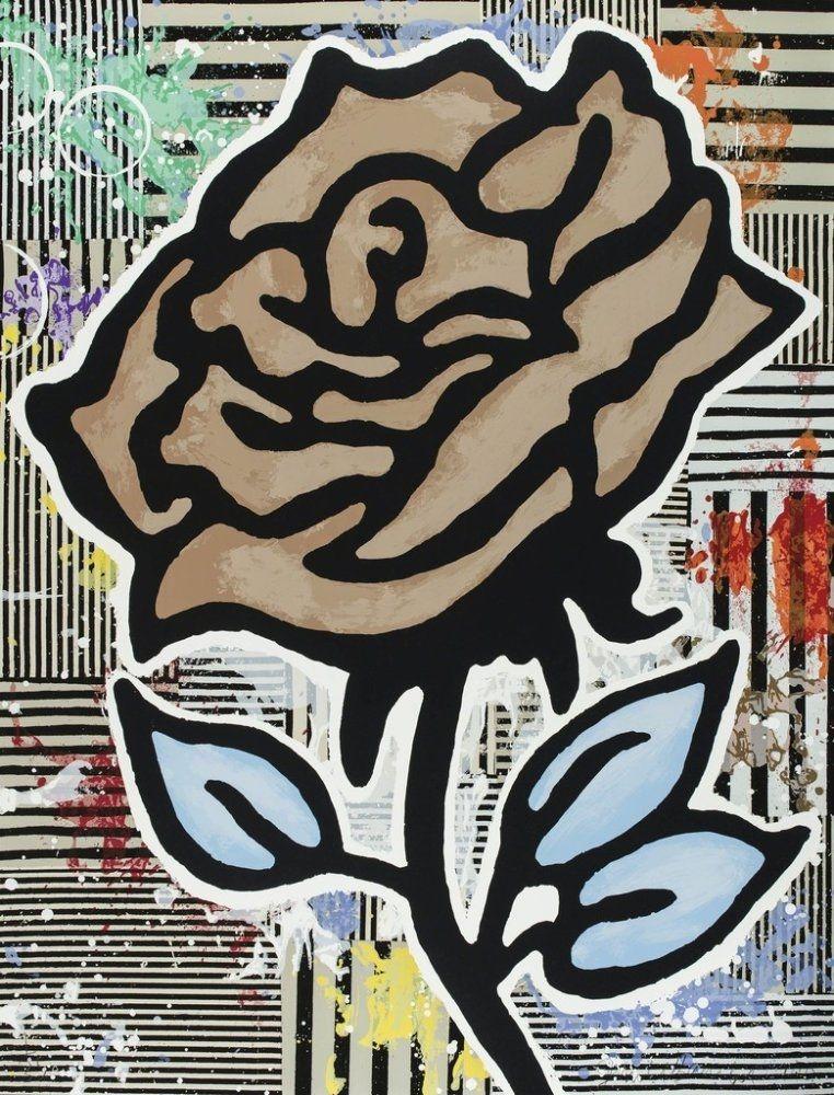 Multiplo Baechler - The brown rose