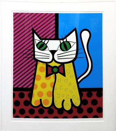 Serigrafia Britto - THE CAT