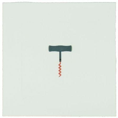 Incisione Craig-Martin - The Catalan Suite II - Corkscrew