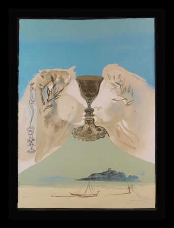 Litografia Dali - The Chalice of Love