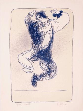 Litografia Ripolles - The Clown