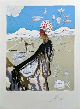 Litografia Dali - THE EARTH GODDESS (THE CHEF)