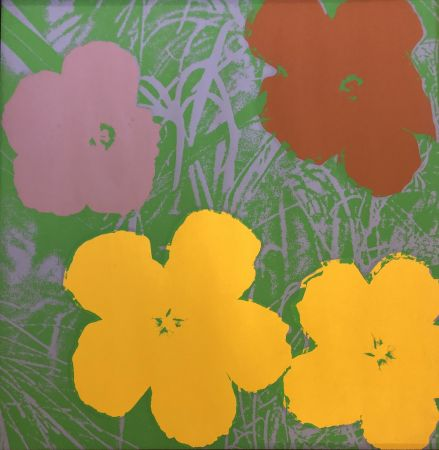 Serigrafia Warhol - The Flowers