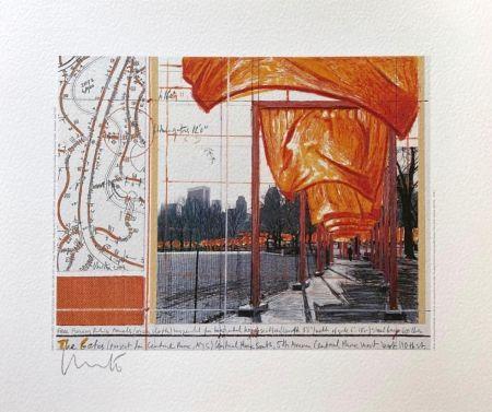 Litografia Christo - The Gates (I)