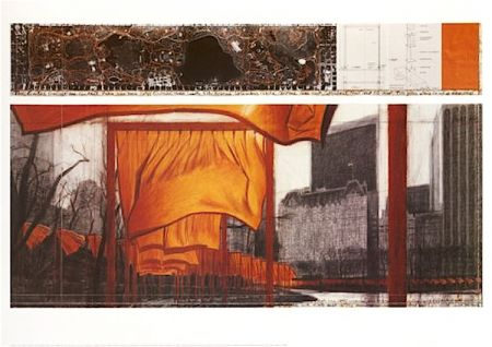 Litografia Christo - The Gates (p)