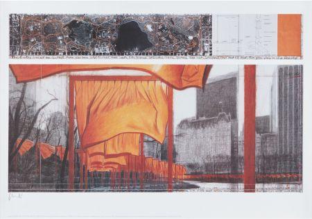 Litografia Christo - The Gates (Viii)