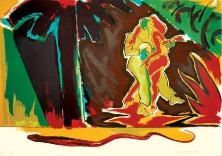 Litografia Jones - The Glade (From the Island)