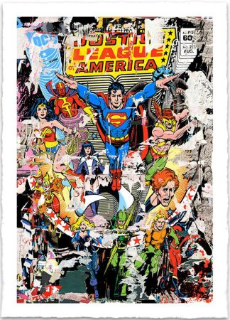 Serigrafia Mr. Brainwash - THE HEROES