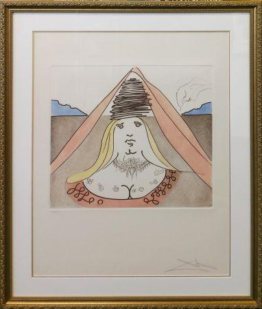 Acquaforte E Acquatinta Dali - THE LADY DULCINEA