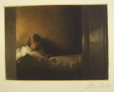 Maniera Nera Ilsted - The little convalescent II