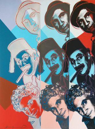 Serigrafia Warhol - THE MARX BROTHERS FS II.232