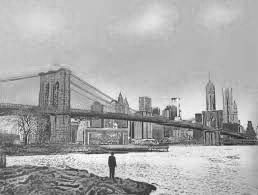 Serigrafia Walker - The Morning After – Brooklyn Bridge – Special Edition