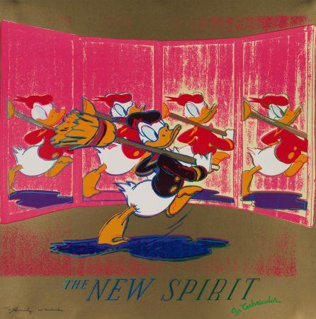 Serigrafia Warhol - The New Spirit (FS II.357)