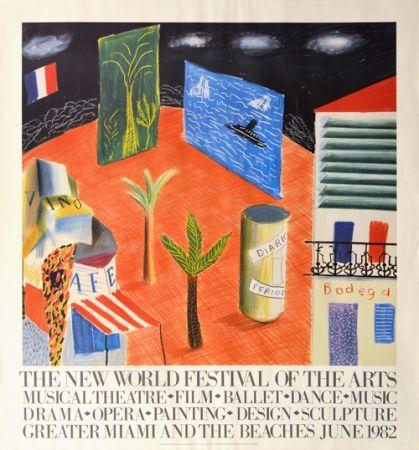 Non Tecnico Hockney - The New World Festival of the Arts, Miami