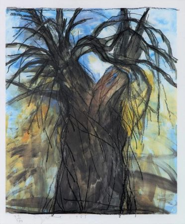 Litografia Dine - The New Year's Tree