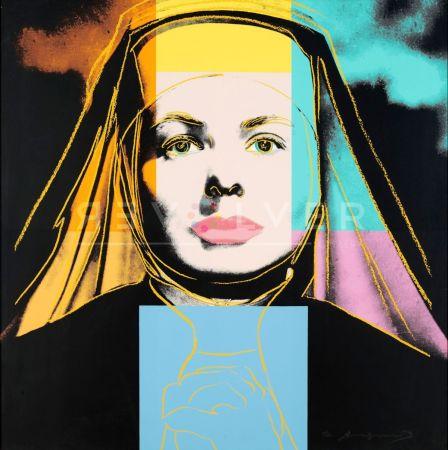 Serigrafia Warhol - The Nun, Ingrid Bergman (Fs Ii.314)