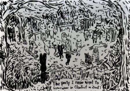 Litografia Kaga - The Party I Never Went To...