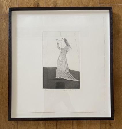 Acquaforte E Acquatinta Hockney -  The Princess Searching