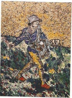 Offset Muniz - The Sower, after Van Gogh