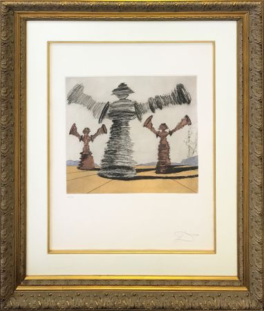 Incisione Dali - THE SPINNING MAN