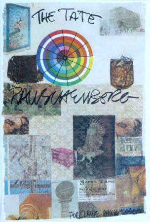 Litografia Rauschenberg - The Tate