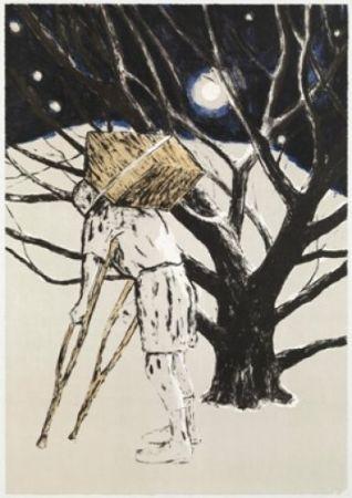 Litografia Martinez Celaya - The Tree