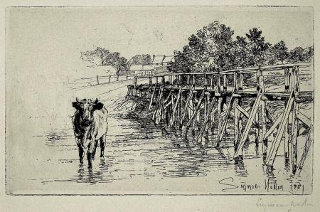 Acquaforte Haden - The Village Ford