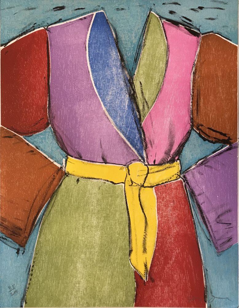 Incisione Su Legno Dine - The Yellow Belt