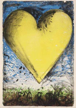 Litografia Dine - The Yellow Heart
