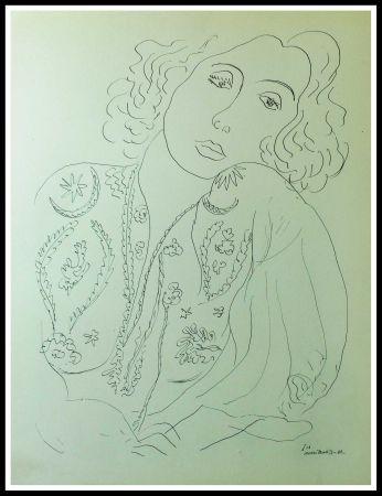 Litografia Matisse - THEMES & VARIATIONS I