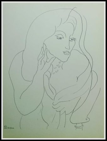 Litografia Matisse - THEMES & VARIATIONS II